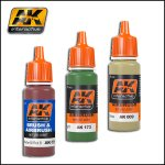 AK Acrylics Single Colours (Brush + Airbrush)
