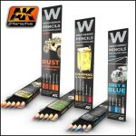 AK Weathering Pencils Sets
