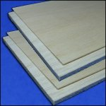 Balsa-Board 100 x 250 mm