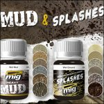Enamel Mud Texture & Splashes
