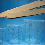 Mixing-Beakers & Stirring-Staffs