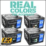 Real Colors Aircraft Paints Sets