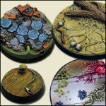 Round Resin Bases
