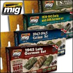 Wargames Acrylic Paint Sets (Pinsel + Airbrush)