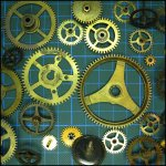 Gear-Wheels & Steampunk-Sets