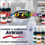 pro-color Airbrush colors - accessory