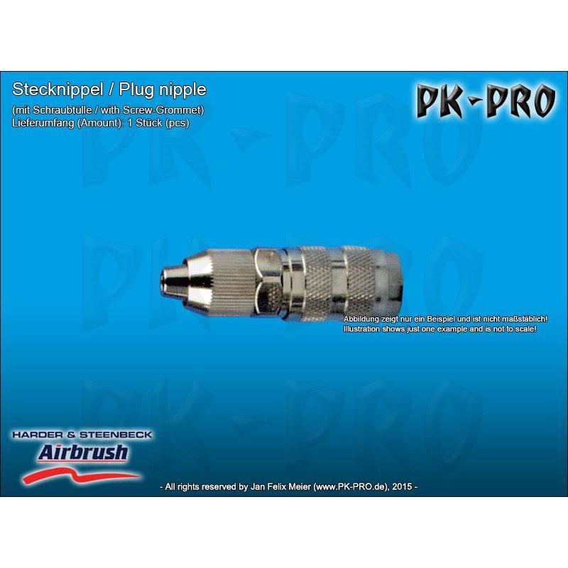 Schlauch 3,3x7mm 104793 Schlauchanschluss G1//8 IG auf Schraubtülle