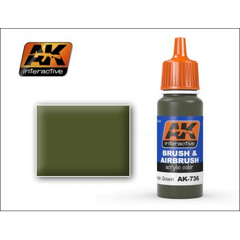 AK-736-Spanish-Green-Acrylic-Colour-(17mL)