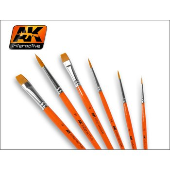 AK-609-Flat-Brush-Synthetic-Size-2
