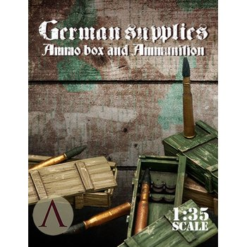 Scale75-German-Supplies-Ammo-Boxes-And-Ammunition-(1/35)