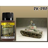 Vallejo-Weathering-Effects-Splash-Mud-Brown-(40mL)