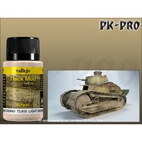 Vallejo-Weathering-Effects-Thick-Mud-Light-Brown-(40mL)