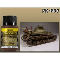 Vallejo-Weathering-Effects-Thick-Mud-Brown-(40mL)