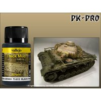 Vallejo-Weathering-Effects-Thick-Mud-Black-(40mL)
