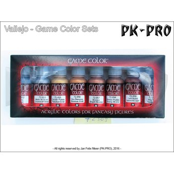 Game Color Set Metallic Colors (8x17mL)