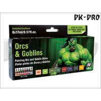 Game Color Set Orcs & Goblins (8x17mL)