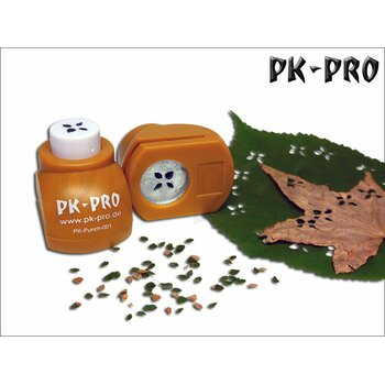 PK-Punch - Miniature-Leaf-Punch-No. 1 - (4xLeaves-Mix)
