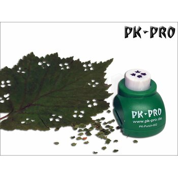 PK-Punch - Miniature-Leaf-Punch-No. 2 - (4xLeaves-Mix)
