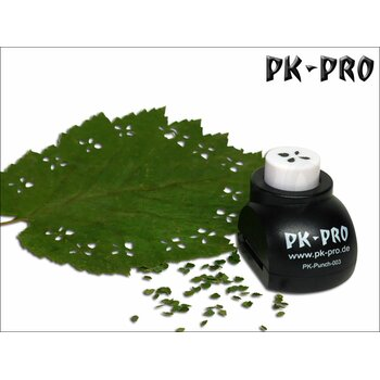 PK-Punch - Miniature-Leaf-Punch-No. 3 - (4xLeaves-Mix)