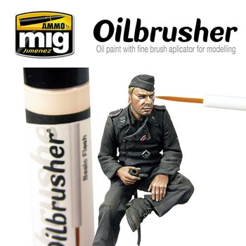 A.MIG-3503-Oilbrusher-Red