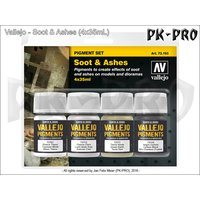 Vallejo-Pigment-Set-Soot-&-Ashes-(4x35mL)