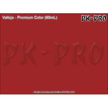Vallejo-Premium-Bright-Red-(Polyurethan)-(60mL)