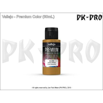 Vallejo-Premium-Yellow-Ochre-(Polyurethan)-(60mL)