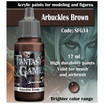 Scale75-Fantasy&Games-Arbuckles-Brown-(17mL)