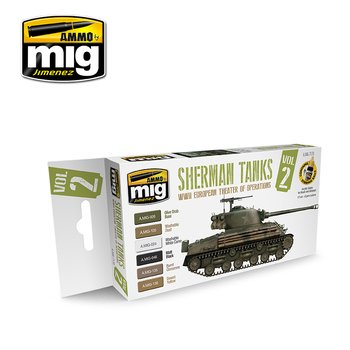 A.MIG-7170-WWII-European-Theater-Of-Operations-Sherman-Tanks-(6x17mL)