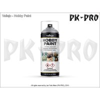 Vallejo-Hobby-Paint-Spray-Primer-Premium-Grey-(400ml)