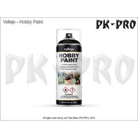 Vallejo-Hobby-Paint-Spray-Primer-Premium-Black-(400ml)