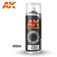 AK-1009-Fine-Primer-Black-Spray-(400mL)-(Includes-2-nozzles)