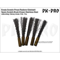 PK-Spare-Scratch-Brush-Eraser-Stainless-Steel-(4mm)-(5x)