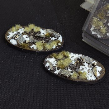 Winter Bases Oval 90mm (x2)