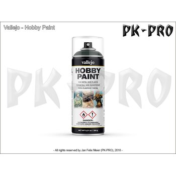 Vallejo-Hobby-Paint-Spray-Dark-Green-(400mL)