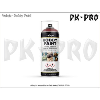 Vallejo-Hobby-Paint-Spray-Gory-Red-(400mL)