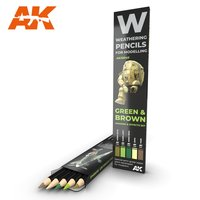 AK-10040-Watercolor-Pencil-Green-And-Brown-Camouflages-Se...