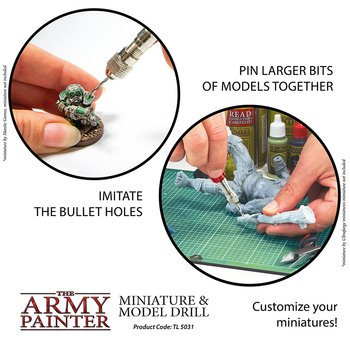 The Army Painter - Miniature and Model Drill