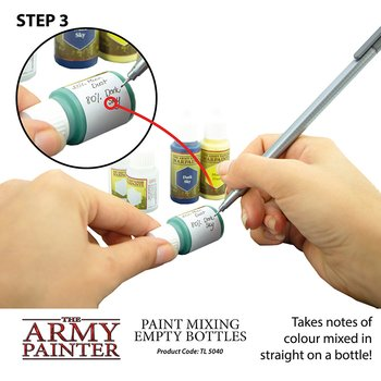 The Army Painter - Paint Mixing Empty Bottles (6x)