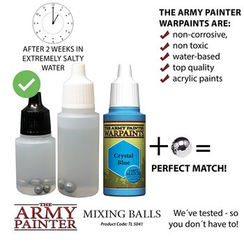 The Army Painter - Mixing balls (100x)