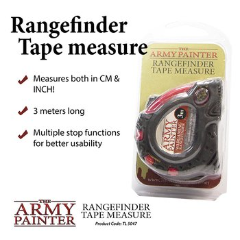 The Army Painter - Rangefinder Tape Measure
