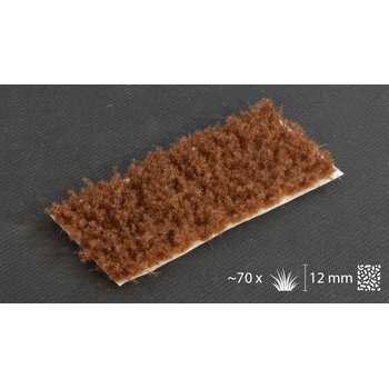 Tufts Spikey Brown 12mm Wild