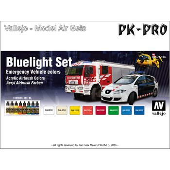 Model-Air-Set-Civil-Defence-Blue-Light-Set-(EU)-(8x17mL)