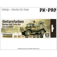 Model-Air-Set-Umtarnfarben-German-ISAF-Color-Set-(8x17mL)