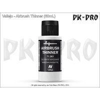 Vallejo-Airbrush-Verdünner-(Thinner)-(200mL)-(neue-Formel)