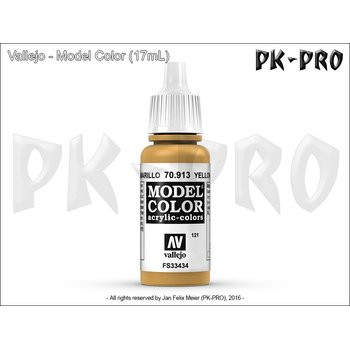 Model-Color-121-Ockergelb-(Yellow-Ochre)-(913)-(17mL)