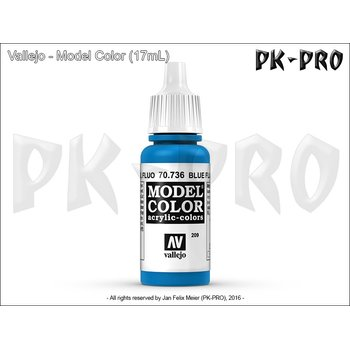 Model-Color-209-Leuchtblau-(Blue-Fluo)-(736)-(17mL)