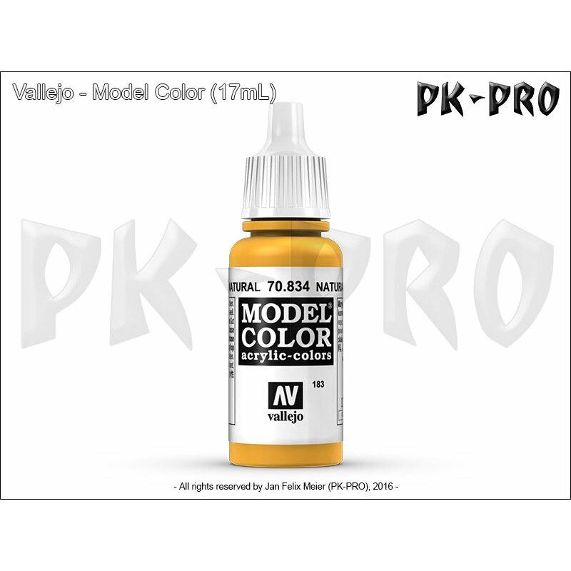 model color 183 helles holz natural wood 834 17ml. Black Bedroom Furniture Sets. Home Design Ideas