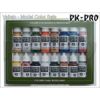 Model-Color-Set-01-Basic-Colors-(Folkstone-Basics)-(16x17mL)