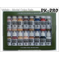 Model-Color-Set-25-Face/Skin-Colours-(16x17mL)